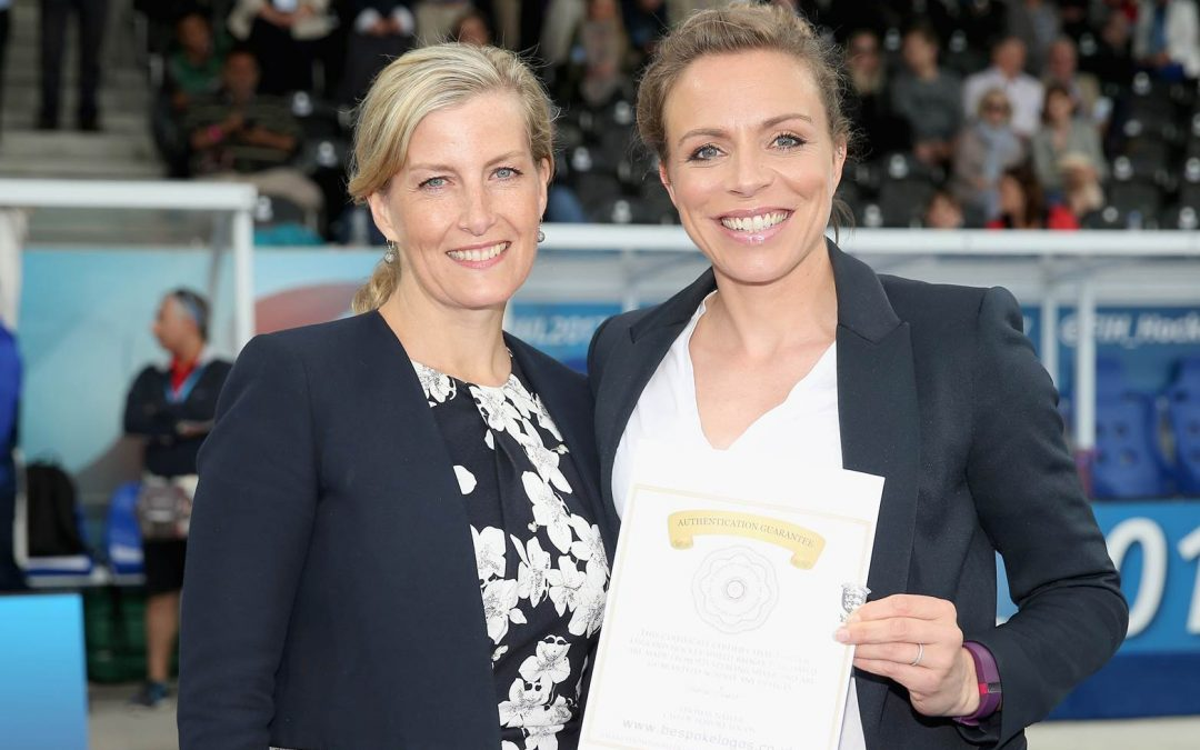 Kate Becomes England Hockey Member Of Honour